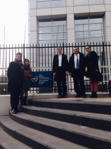IPHR delegation visiting the ICC