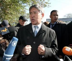Президент Алмазбек Атамбаев. Фото: eurodialog / CC BY.